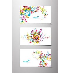 music tags vector image
