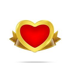 Premium Gold badge tag banner 003 vector image