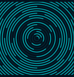 Abstract circle line background vector