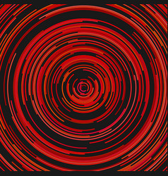 Abstract ring background from concentric circles vector