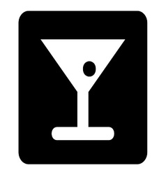 Bar Sign vector