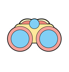 binocular element to use in exploration vector image