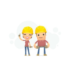 Builders family vector