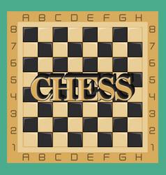 Chess game design vector