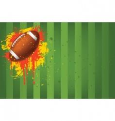 football ball vector image