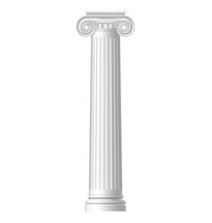 Ionic greek column vector