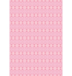 pattern for Valentines Day vector image vector image
