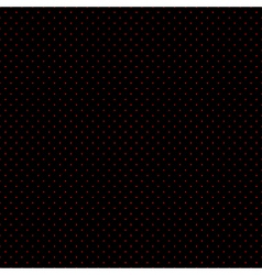 Red Dots Black Background vector image vector image