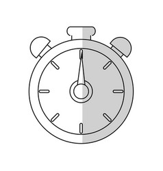 chronometer device icon vector image