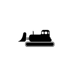 excavator icon element of popular car icon vector image