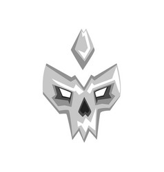 Hero or villain mask on a vector