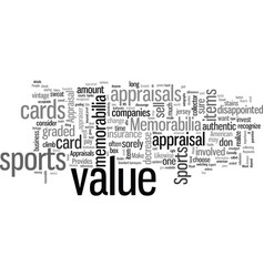 How to get appraisals for sports memorabilia vector
