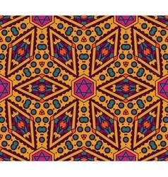 seamless colorful Geometric print vector image