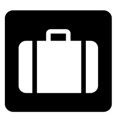 Suitcase Sign vector