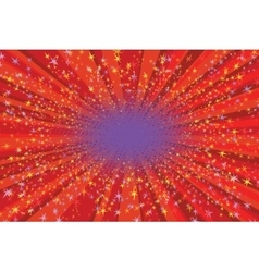 Festive background with bright sparks vector image vector image