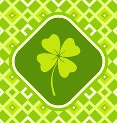 clover green vector image vector image