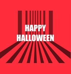 happy halloween october 31st horror retro vector image