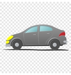 Hatchback car Cartoon vector