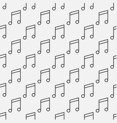 musical note music concept seamless pattern vector image