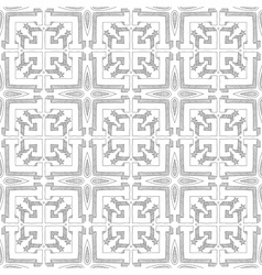 Seamless doodled pattern vector