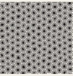 seamless irregular lines mosaic pattern abstract vector image