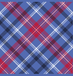 Tartan seamless pattern check fabric texture vector