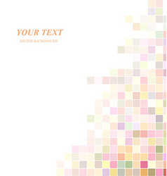 Abstract colorful digital art background design vector image vector image