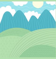 doodles cute backdrop summer theme vector image