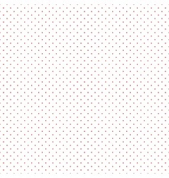 Red Dots White Background vector image vector image