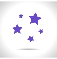 stars icon Eps10 vector image vector image