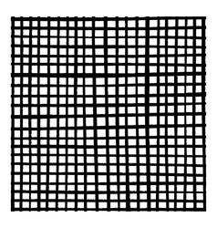 Brushes Grunge Grid vector image