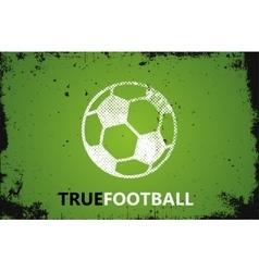 Football logo Ball logo design Football ball vector image vector image