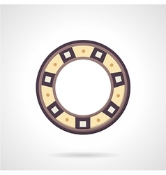 Bearing color icon vector