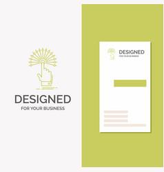 Business logo for reach touch destination digital vector