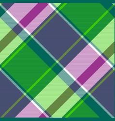 Check plaid fabric texture modern seamless pattern vector