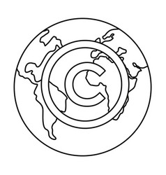 Copyright protection of intellectual vector