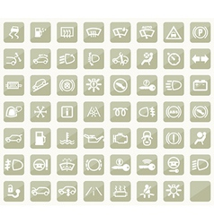 Dashboard icons vector image