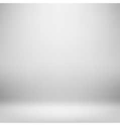 Empy grey interior vector image