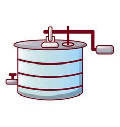 honey processing icon cartoon style vector image