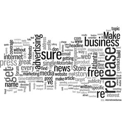 How to get free publicity for your business vector