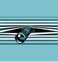 Photo camera peeping surveillance privacy vector