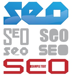 seo icon project vector image