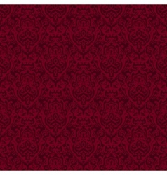 damask seamless pattern background texture vector image vector image