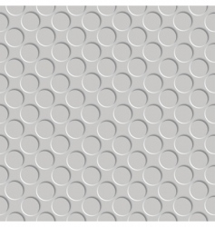 embossed circles vector image vector image