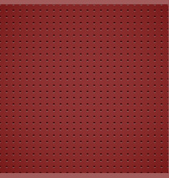 red metallic background vector image
