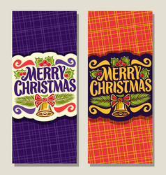 banners for christmas vector image