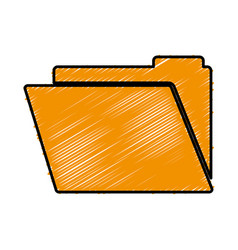 documents folder icon vector image