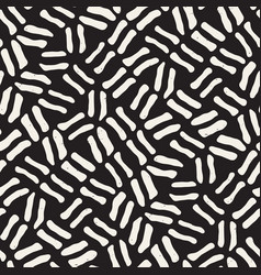 seamless freehand pattern abstract rough vector image