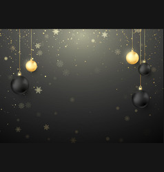 shiny christmas holiday background snowflakes and vector image