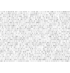 Binary matrix computer data code seamless vector image